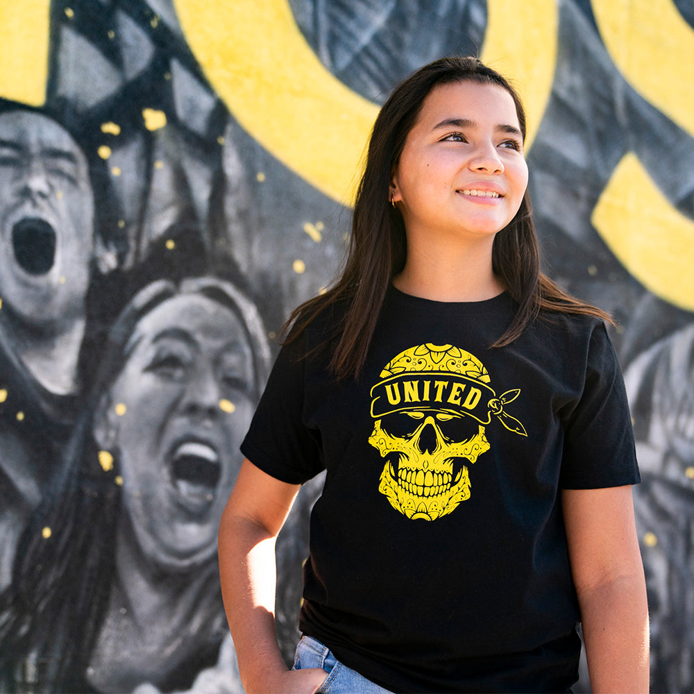 New Mexico United Youth Calavera Tee - Black
