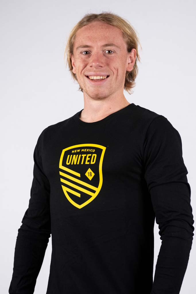 New Mexico United Cutout Shield Long Sleeve Tee