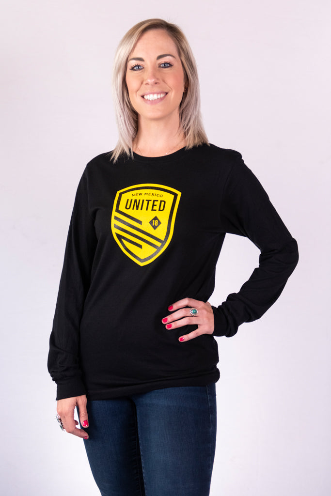 New Mexico United Basic Shield Long Sleeve Tee
