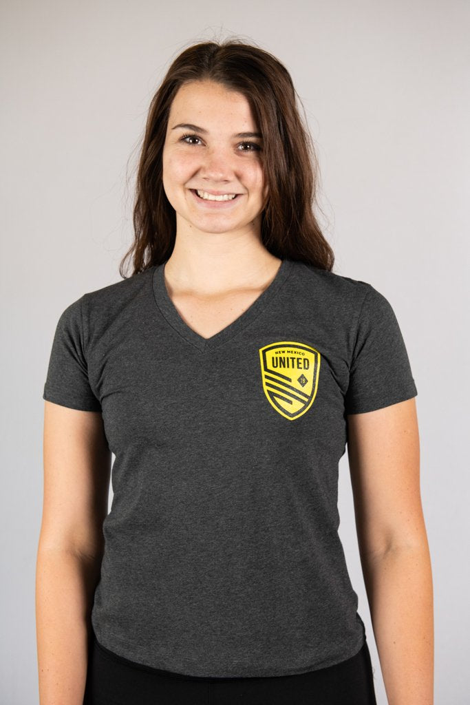 Women's Shield Pocket V-Neck