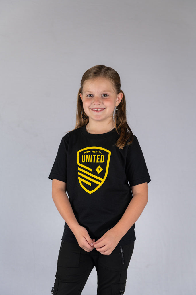 United Youth Cutout Shield Tee