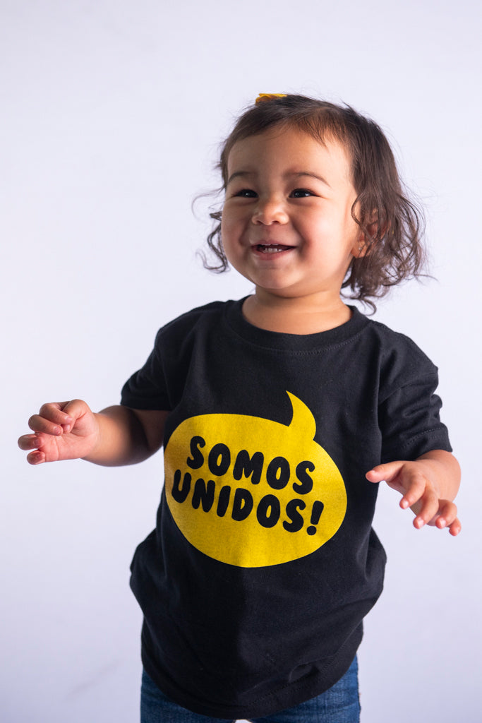 Somos Unidos Toddler Bubble T-Shirt