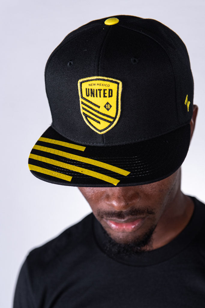 Zia Striped Visor Snapback Hat