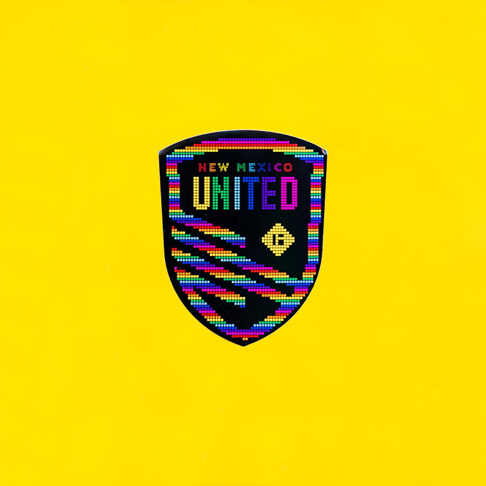 New Mexico United Mosaic Pride Decal