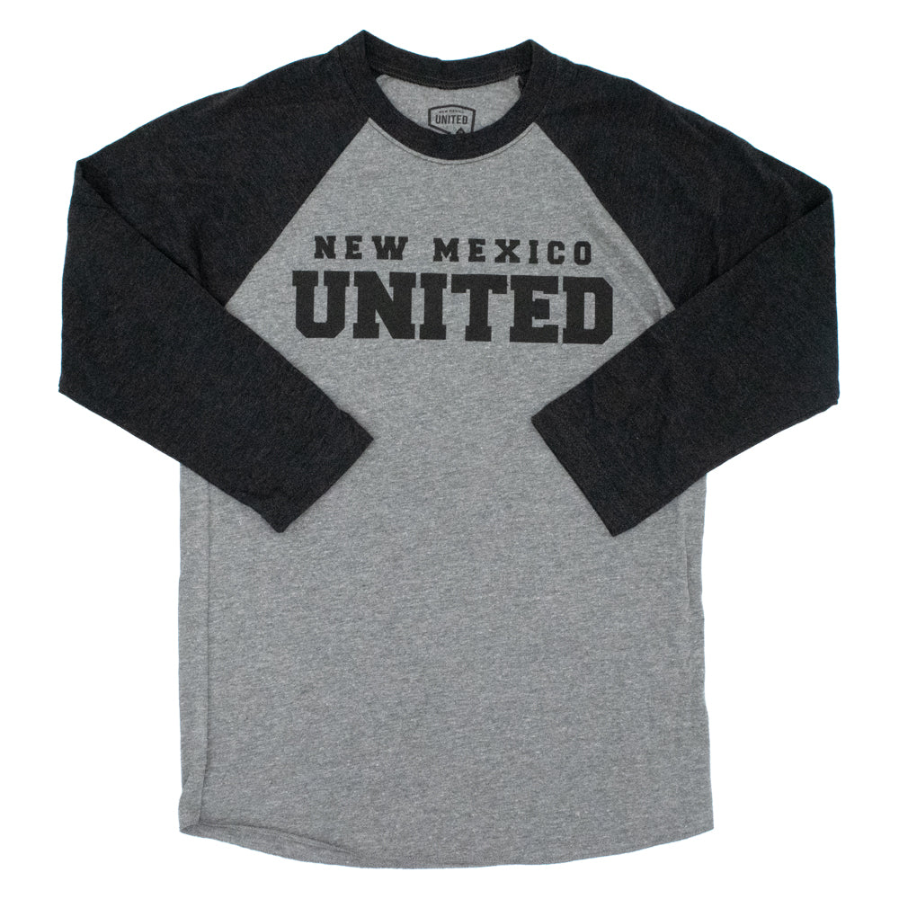 New Mexico United Baseball Raglan Tee