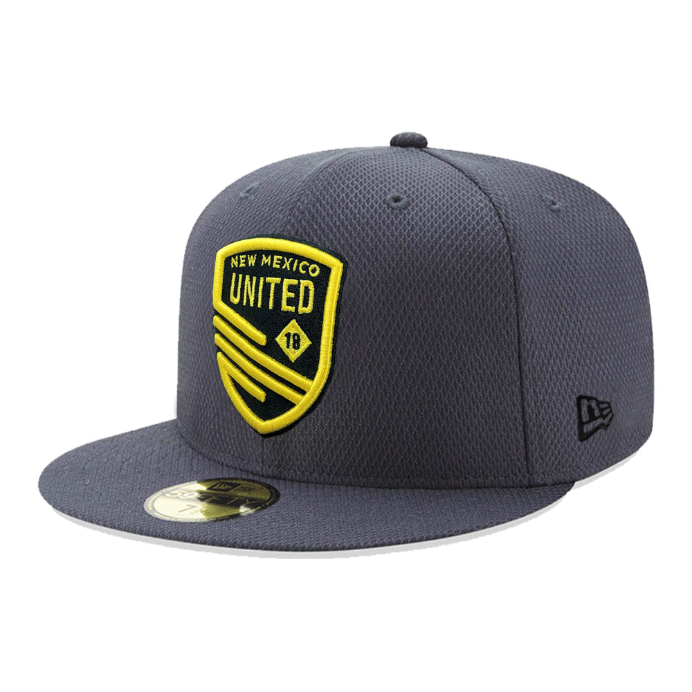 New Mexico United New Era Shield Diamond Era 59FIFTY - Graphite