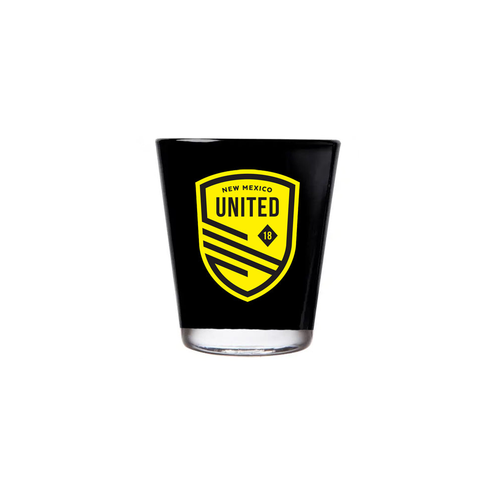 New Mexico United Rico Shot Glass