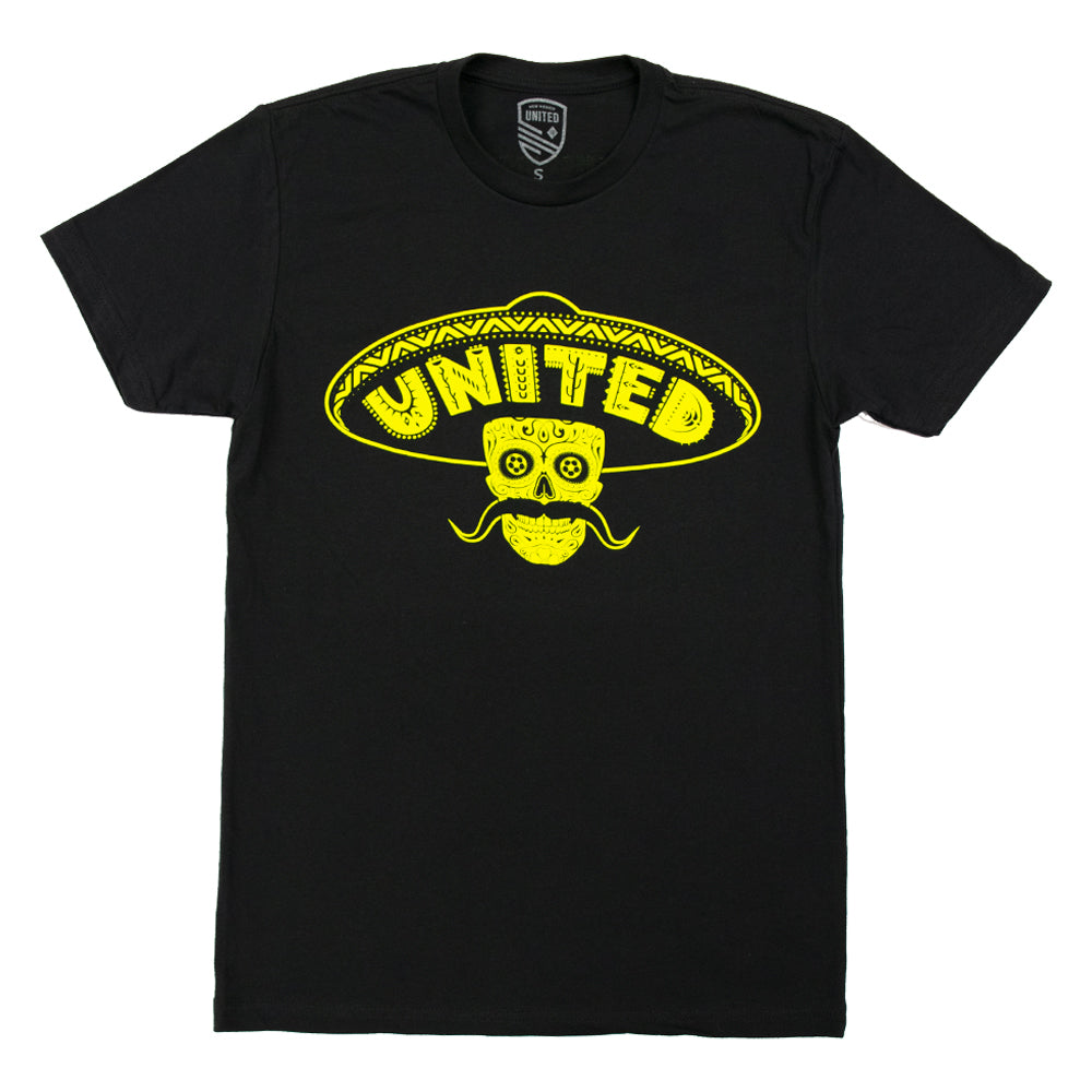 New Mexico United Sombrero Skull Tee