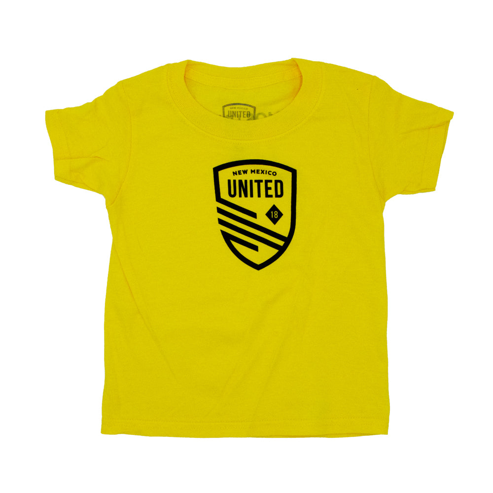 New Mexico United Toddler Cutout Shield Tee