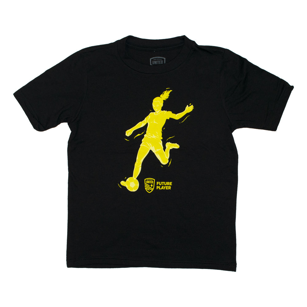 New Mexico United Youth Female Future Soccer Tee - Black