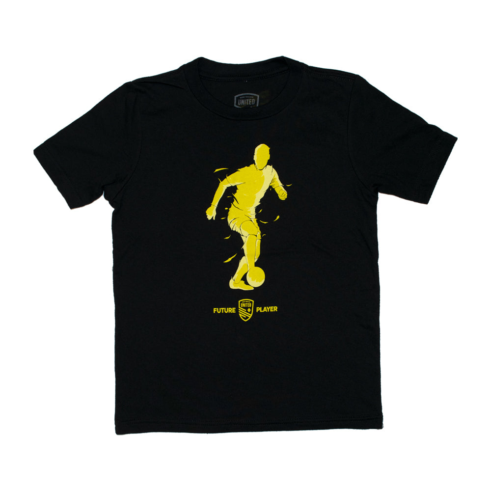 New Mexico United Youth Male Future Soccer Tee - Black