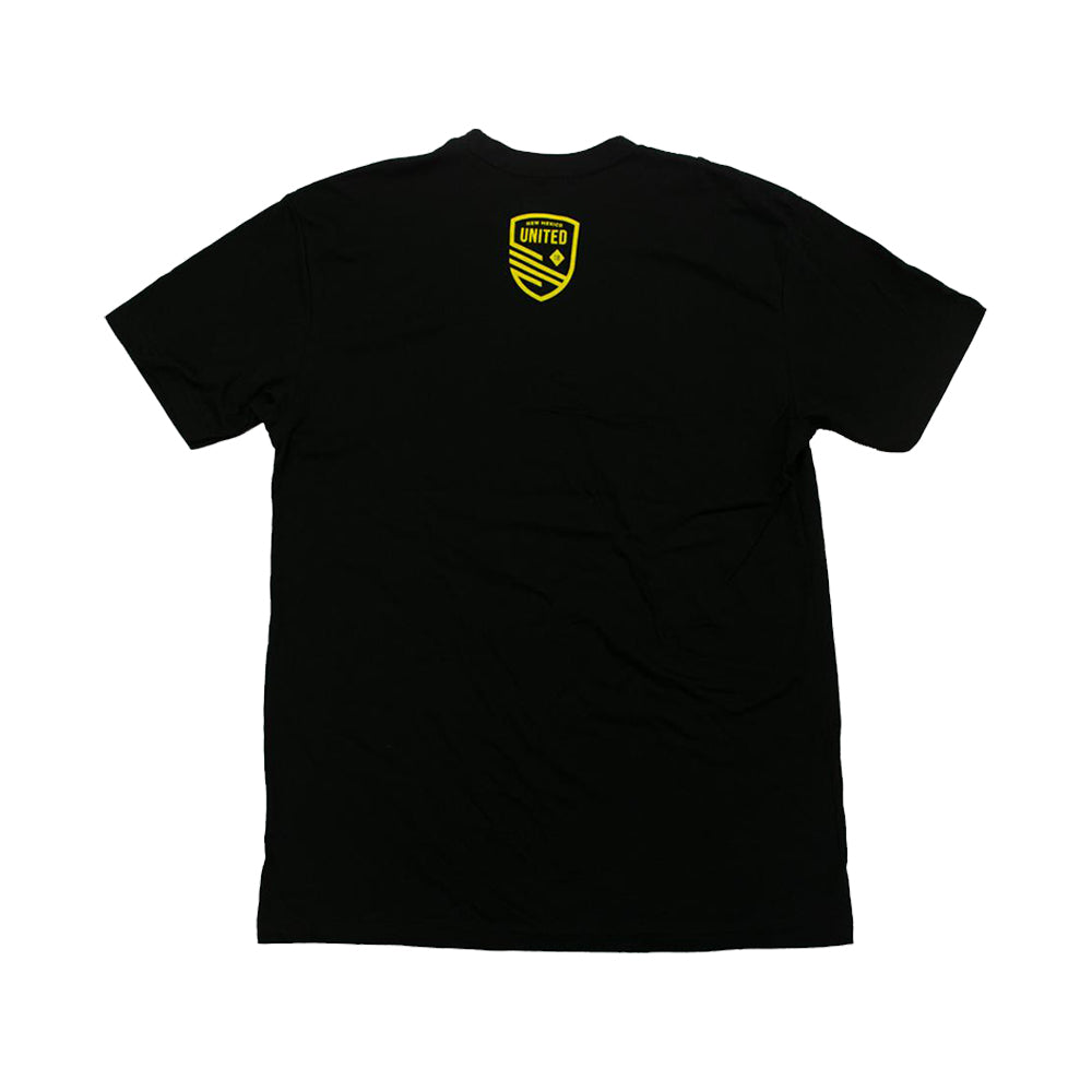 New Mexico United Youth Soccer is Life Tee - Black