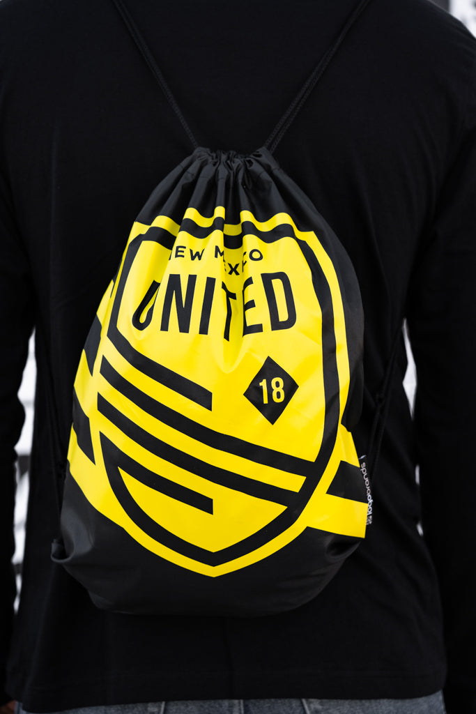 United Stripe Drawstring Bag