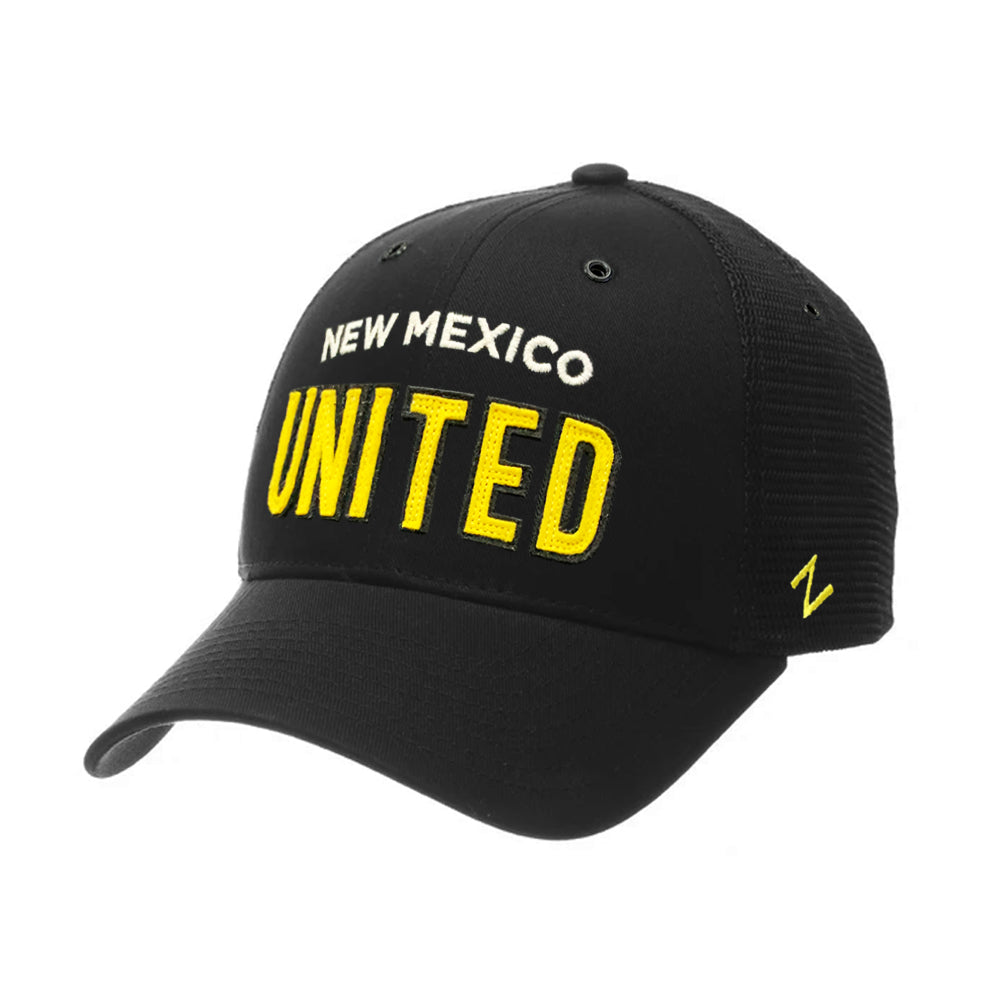 New Mexico United Zephyr Wordmark Mesh Scholarship Hat