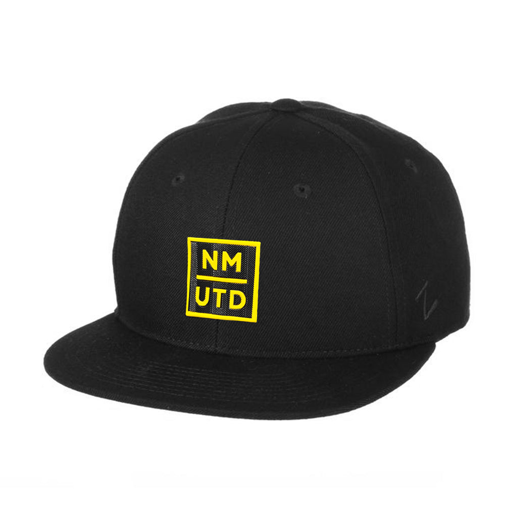 New Mexico United Zephyr Black UTD Patch Z11 Snapback Hat