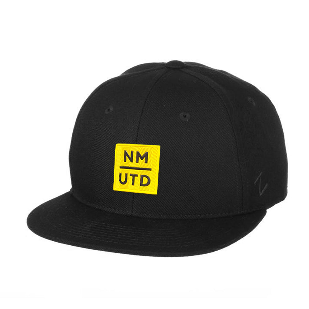 New Mexico United Zephyr Yellow UTD Patch Z11 Snapback Hat