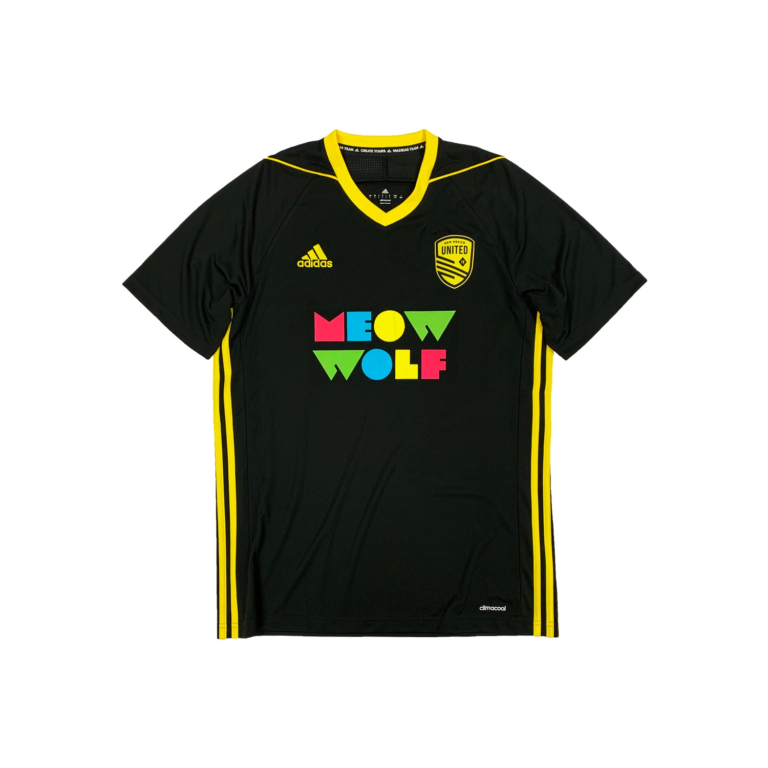 New Mexico United Youth 2019 Meow Wolf Home Jersey