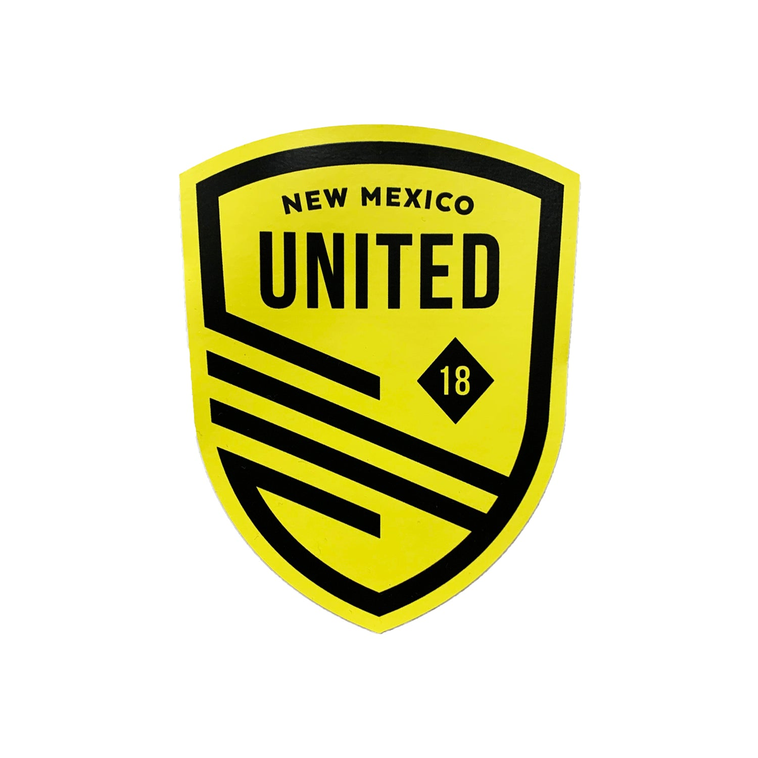 New Mexico United Shield Decal