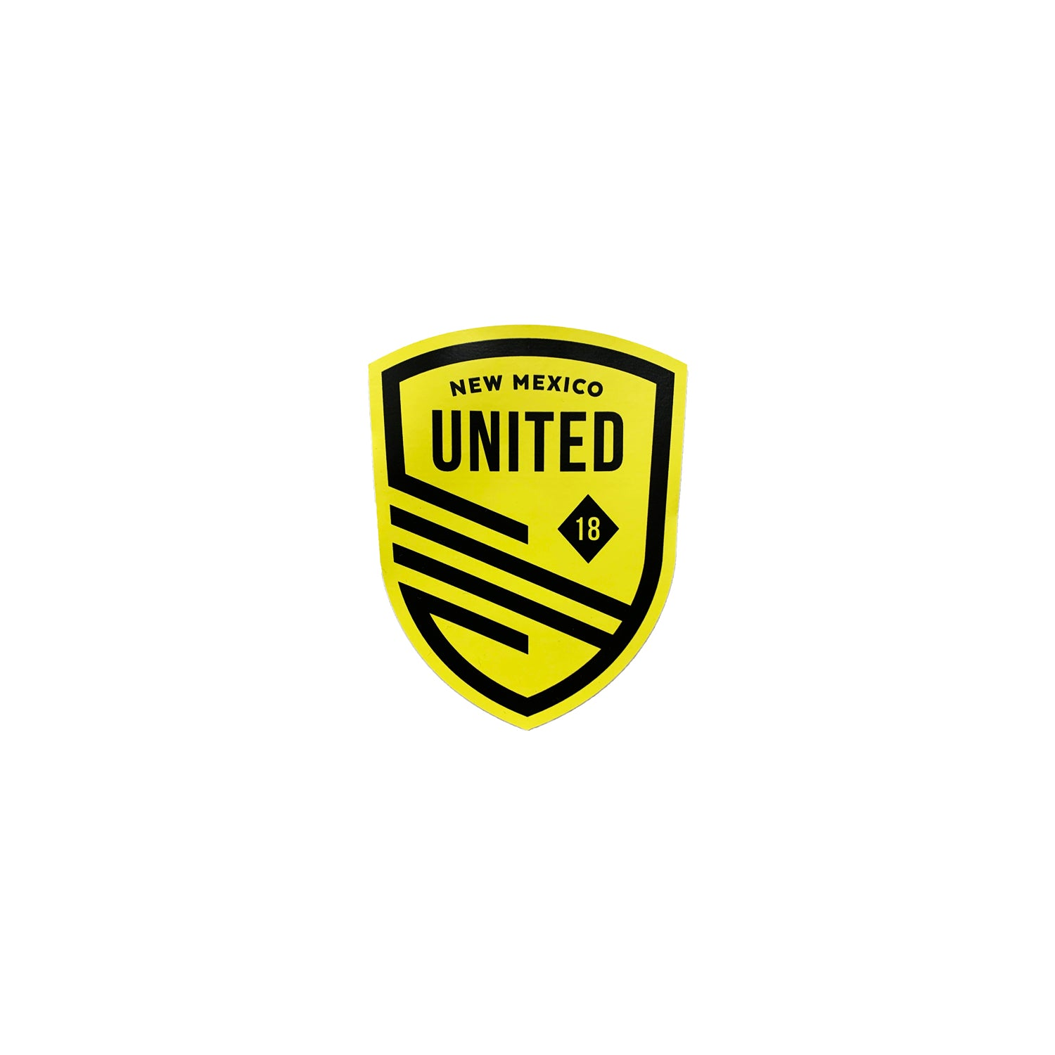 New Mexico United Small Shield Decal