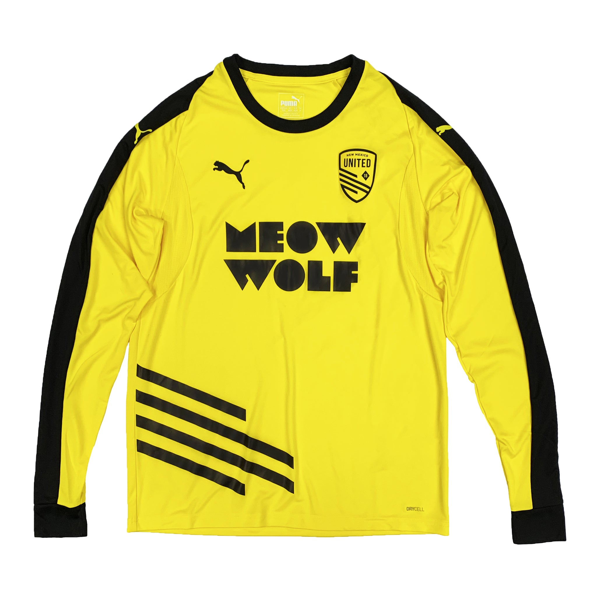 New Mexico United Puma 2020 Meow Wolf Unisex Away Long Sleeve Jersey