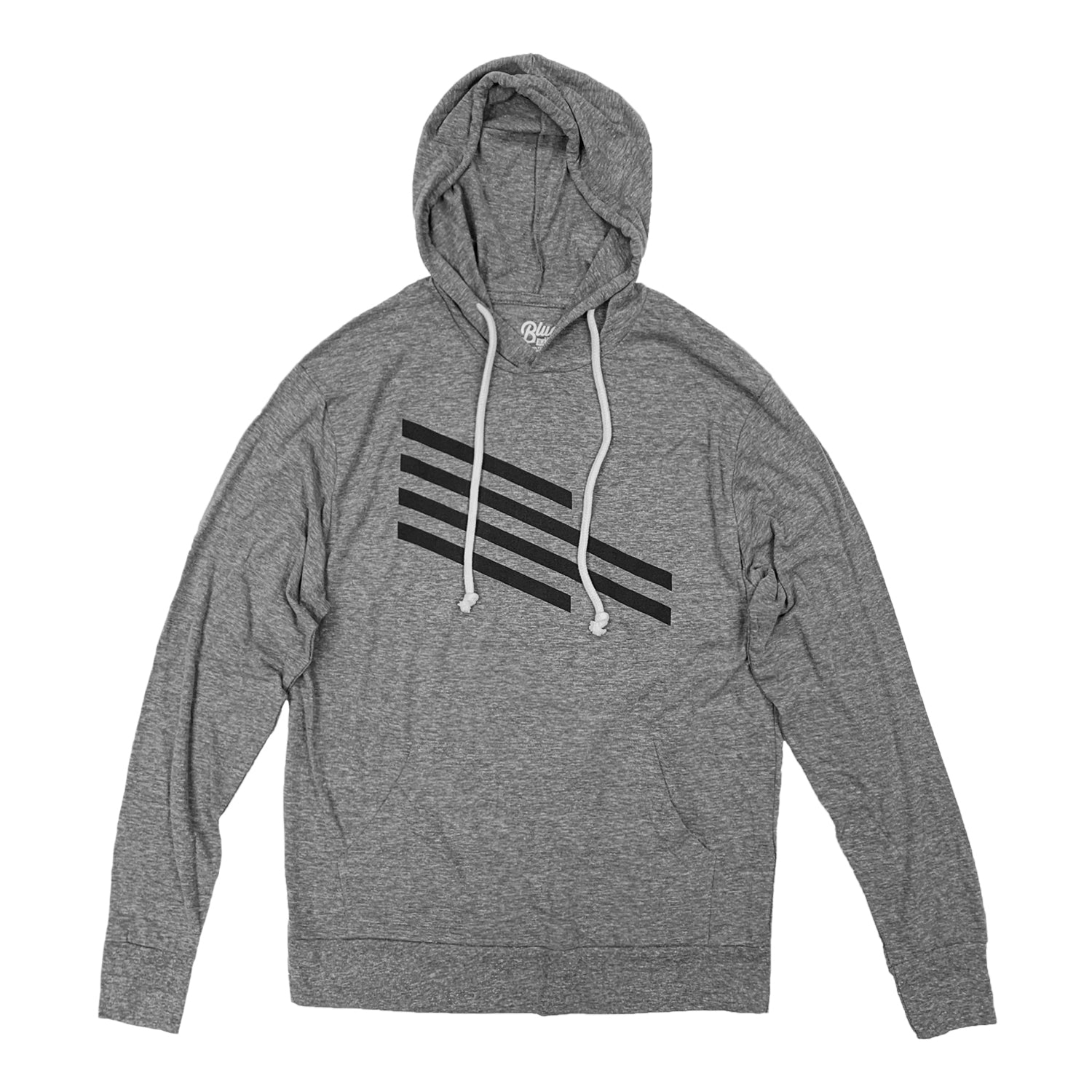New Mexico United Blue 84 Stripe Triblend Hoodie