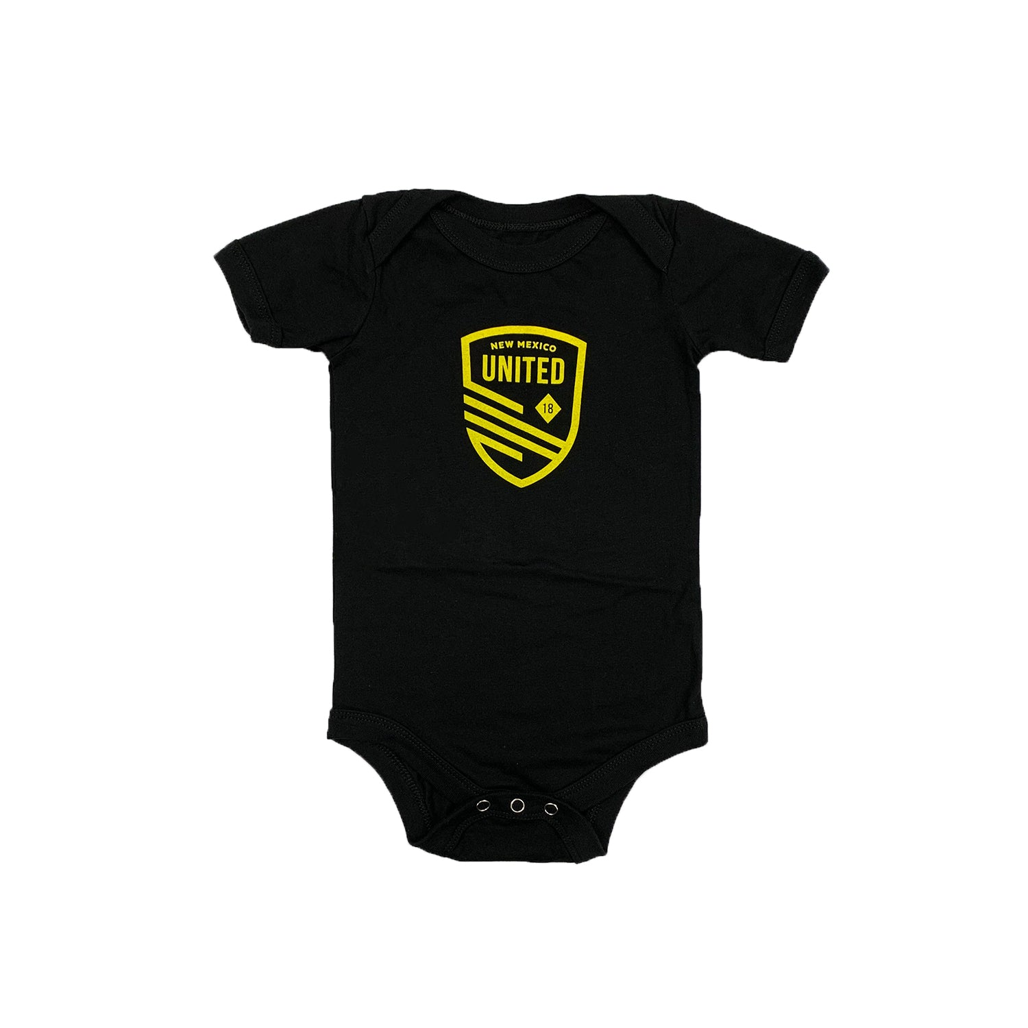 New Mexico United Infant Cutout Shield Onesie