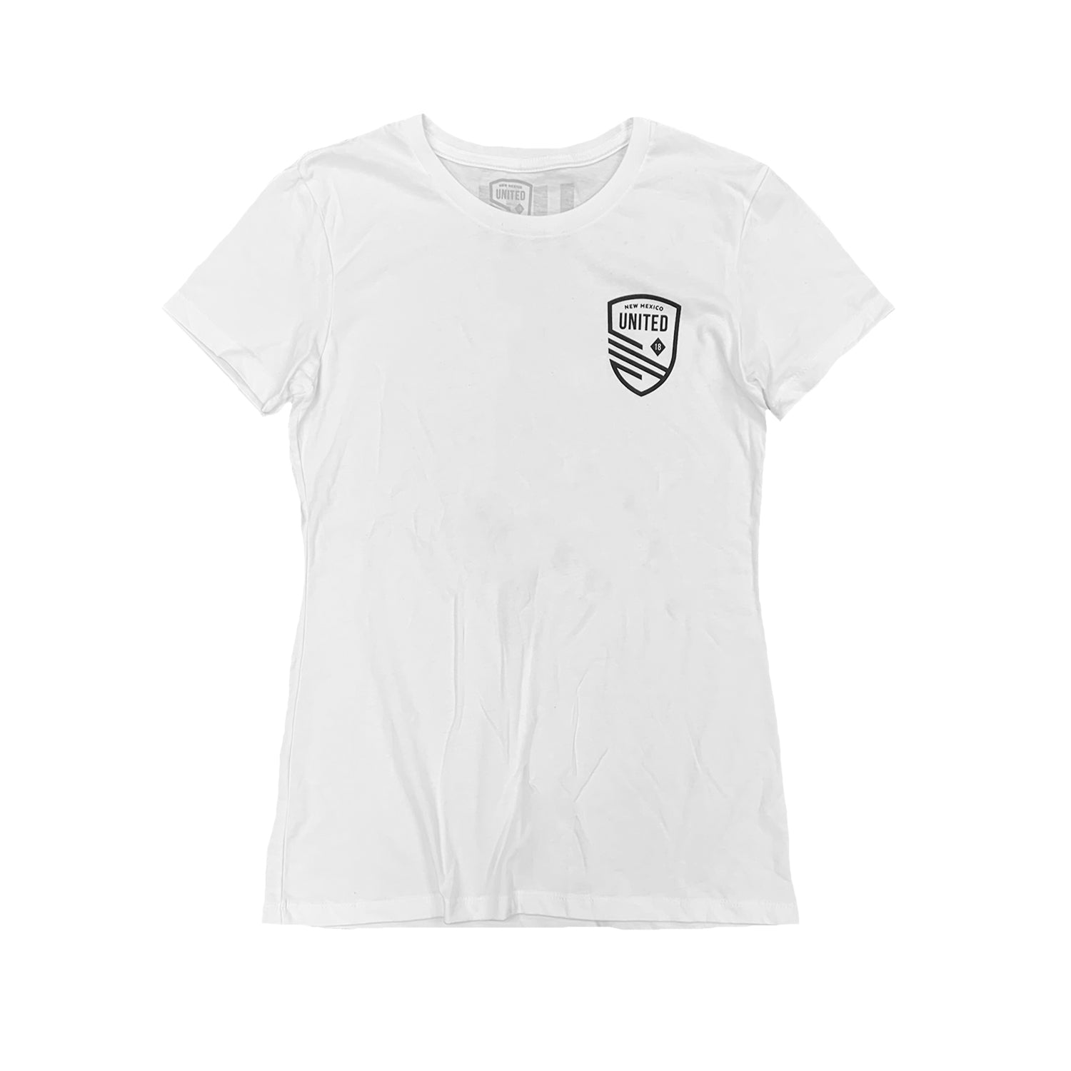 New Mexico United Women's Mini Shield Crew Neck Tee