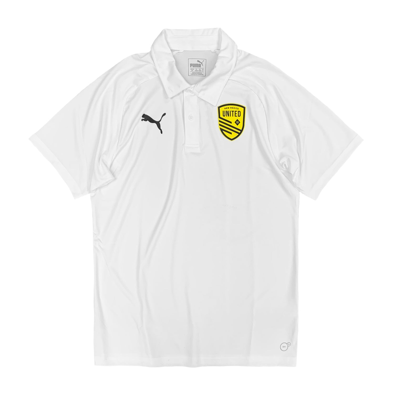 New Mexico United Puma Sideline Polo - White