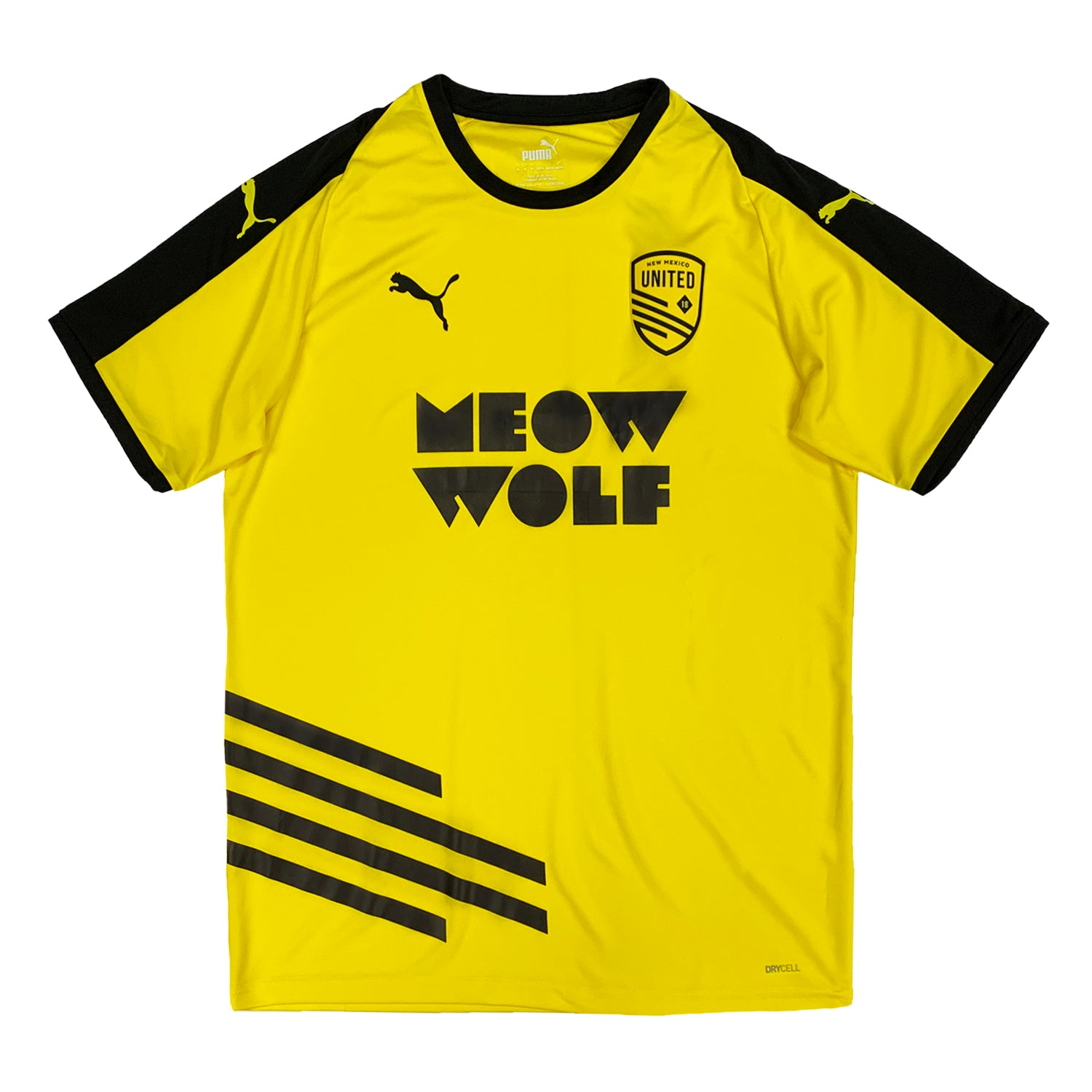 New Mexico United Puma 2020 Meow Wolf Unisex Away Jersey