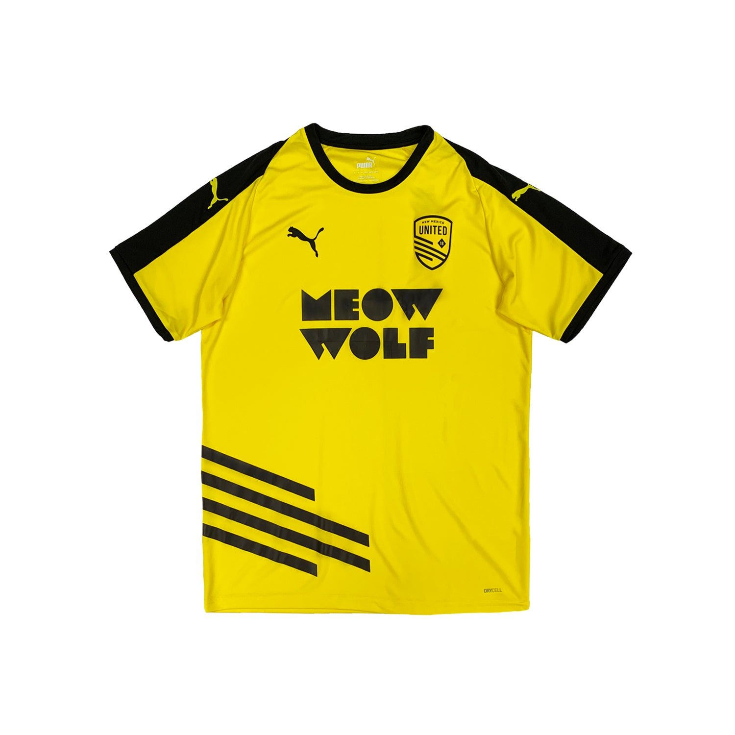 New Mexico United Youth Puma 2020 Meow Wolf Away Jersey