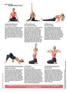 Yoga Journal HOME PRACTICE SPECIAL