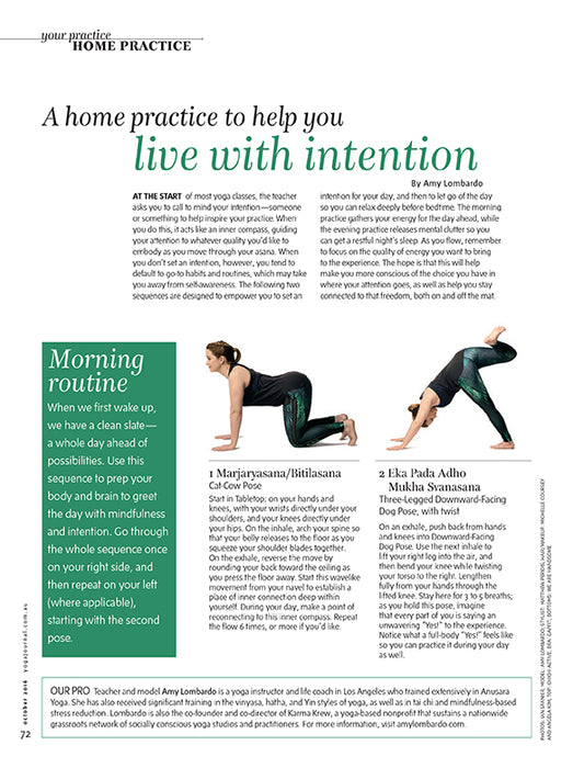 Australian Yoga Journal Issue 54