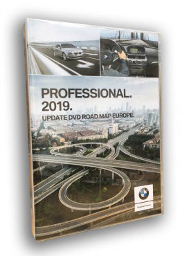 2019 BMW Navigation DVD Road Map Europe PROFESSIONAL