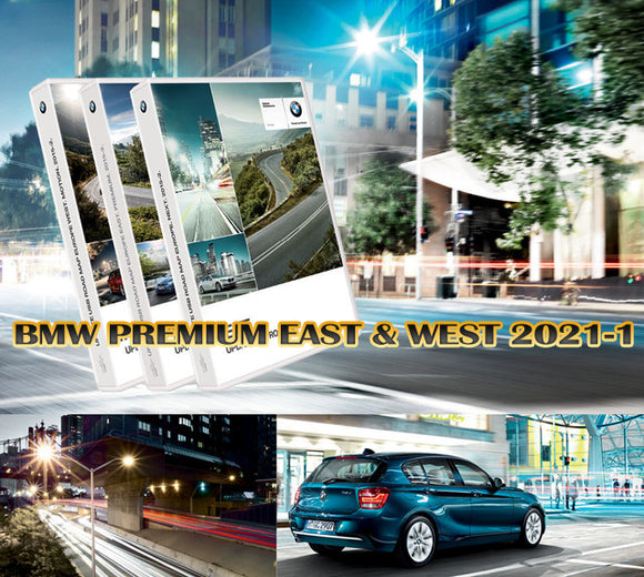 BMW EUROPE PREMIUM MAPS EAST & WEST 2021-1