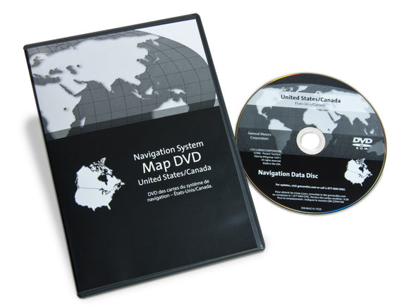 GM Navigation DVD America and Canada v 10.0 NO.23286274