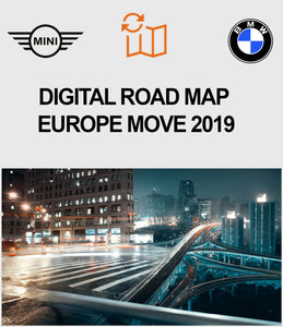 BMW Road Map Europe MOVE 2019
