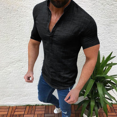 Men's Slick Slim Fit Casual T-Shirt