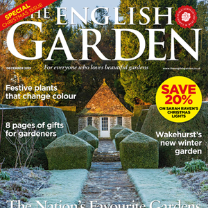 The English Garden December 2019 cover.
