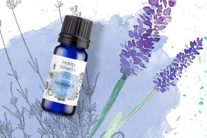 Calming essential oil blend.