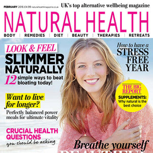 Natural Health magazine cover February 2017.