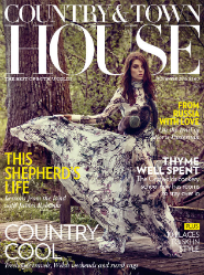 Country & Town House December 2015 cover.