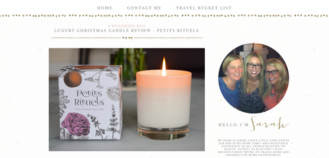 I Heart Cosmetics' review of Petits Rituels BY THE FIRE candle.