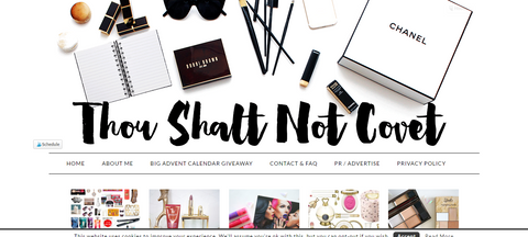 Thou Shall Not Covert: luxury candles perfect for Winter