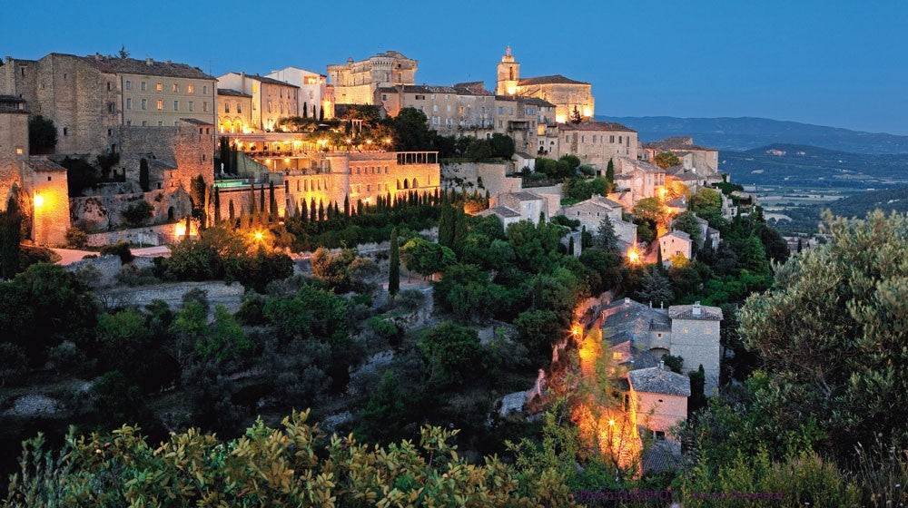 Gordes village in Provence.