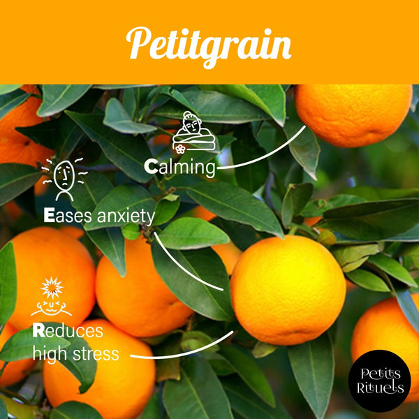 Emotional benefits of Petitgrain essential oil.