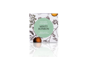 Mint travel candle box.