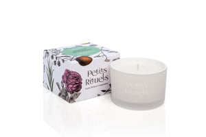 Mint Travel Candle with spearmint.