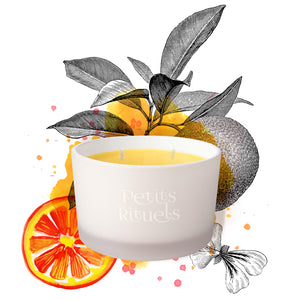 ORANGE GOURMANDE Travel Candle