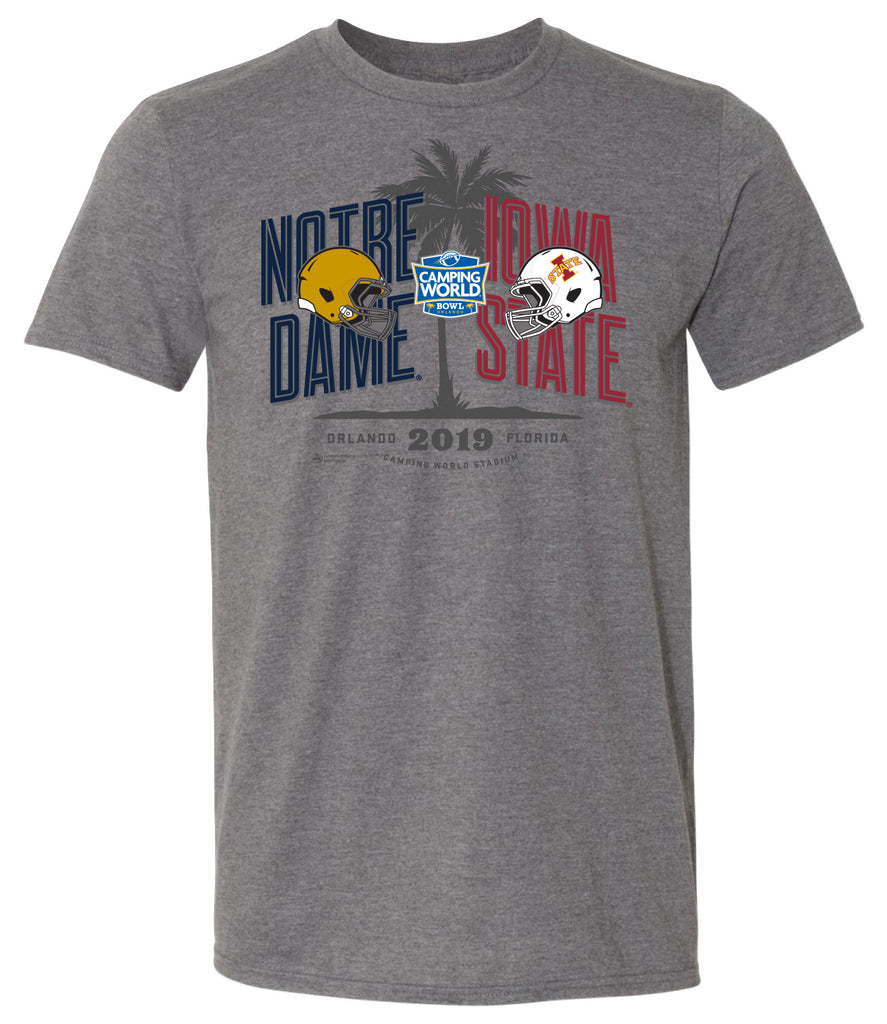 2019 Camping World Bowl 2-Team Short Sleeve T