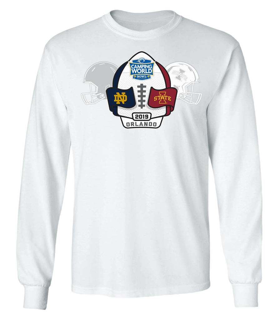 2019 Camping World Bowl 2-Team Long Sleeve T